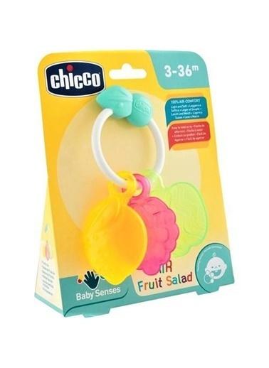 Chicco Baby Senses Line Havalı Meyve Salatası Çıngırak-93680 Renkli